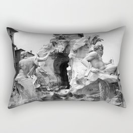fontana navona black and white Rectangular Pillow