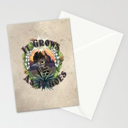 It Grows As It Goes Stationery Cards