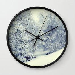 Snow World Wall Clock
