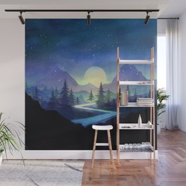Touching the Stars Wall Mural