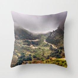 Peaks of Europe 2 Throw Pillow