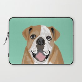 Roscoe - English bulldog dog dogs pet pets gifts for dog person dog people  Laptop Sleeve