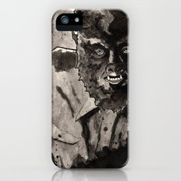 The Wolfman (1941) iPhone Case