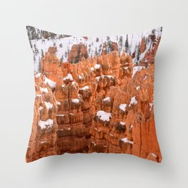 Bryce Canyon - Sunset Point IV Throw Pillow