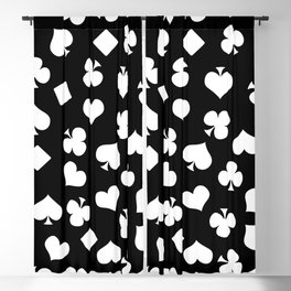 Playing Cards Blackout Curtain
