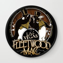 fleetwood black rumours vegas tour 2020 ngaprilio Wall Clock