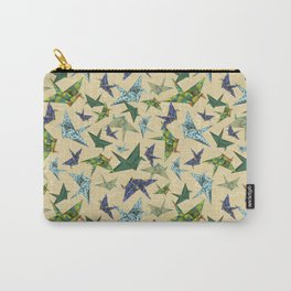 5 Washi Cranes Carry-All Pouch