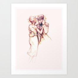 The Dance Art Print