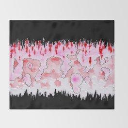 Sargassum Candy Throw Blanket