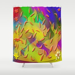 Autumn feeling Shower Curtain