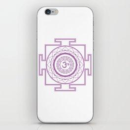 Sri Yantra Crown Chakra iPhone Skin
