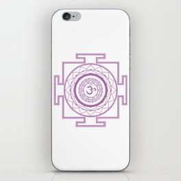 Sri Yantra Crown Chakra iPhone Skin