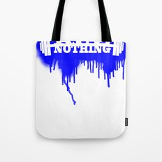 Rue Nothing Weights Sprayed Tote Bag