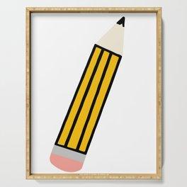 Pencil Serving Tray