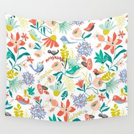 Gracie's Garden Wall Tapestry