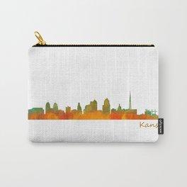 Kansas City Skyline Hq v1 Carry-All Pouch