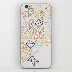 multicolor diamonds iPhone & iPod Skin