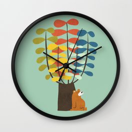 Shady Tree Wall Clock