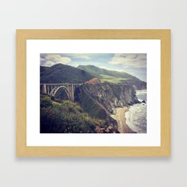 Norcal Bridges Framed Art Print