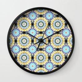 Ethnic Oriental ornament . 2 Wall Clock