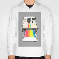 polaroid Hoodies featuring Polaroid by daniel davidson