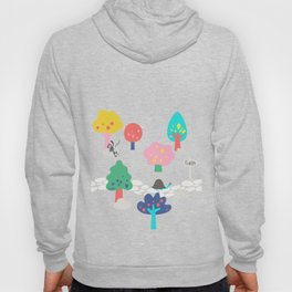 The Tortoise & the Hare in the woods by UnPato Hoody
