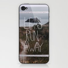 Let's Run Away: Cannon Beach, Oregon iPhone & iPod Skin