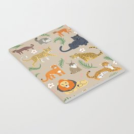 Exotic Cats Notebook