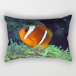 Anemone Fish in Anemone Rectangular Pillow