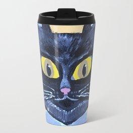 Marx the Cat Travel Mug