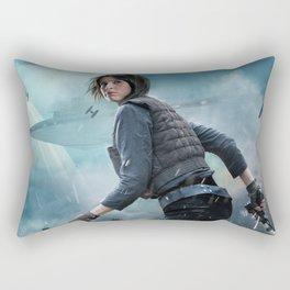 Jyn Erso Rogue One Rectangular Pillow