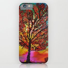 The Wow Tree iPhone Case