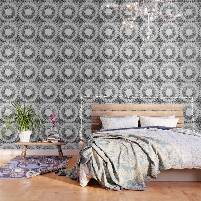 Mandala Zentangle Wallpaper by