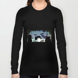 Bright Rock Band Stage Long Sleeve T-shirt