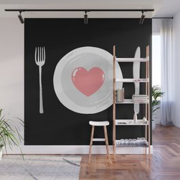 Eat Love Wall Mural