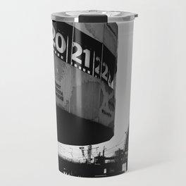 Berlin Alexanderplatz black and white photography Travel Mug
