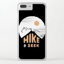 Hike And Seek Clear iPhone Case