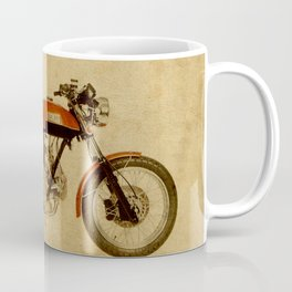 vintage moto ducat orange original gift for motorcycles lovers Coffee Mug