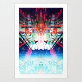 Return (Data Insertion) Art Print