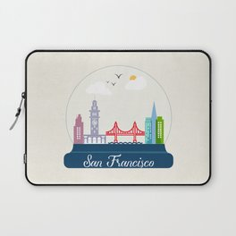 a dream of San Francisco  Laptop Sleeve