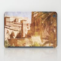 morocco iPad Cases featuring Village Morocco by ZenaZero