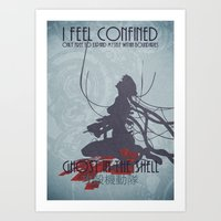 ghost in the shell Art Prints featuring Ghost in the Shell by [SilenceCorp.]