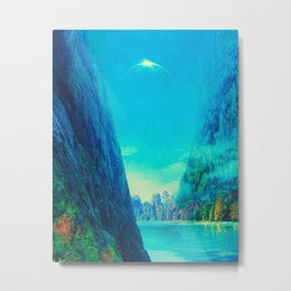 Green Valley Metal Print