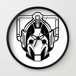 Cyberman Head Wall Clock
