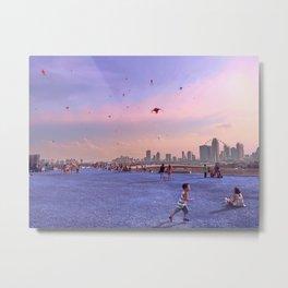 Feast of flying kites in Singapore Metal Print