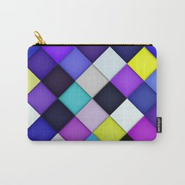 Quilted with Halftone Carry-All Pouch