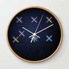 SMOOTH MINIMALISM - Star wars Wall Clock