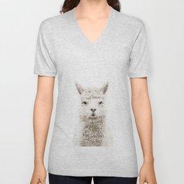 Alpaca Front & Center Unisex V-Neck