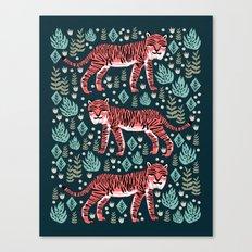 Safari Tiger by Andrea Lauren  Canvas Print
