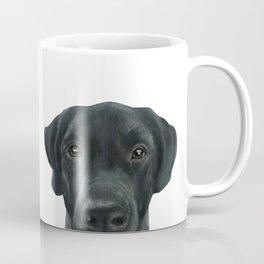 Labrador New, Acrylic painting by miart Coffee Mug